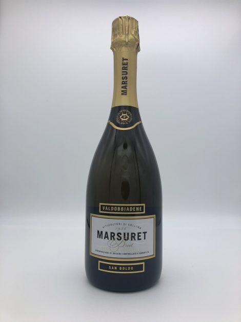 """Prosecco Spumante brut """"San Boldo"""" DOCG – Marsuret"""