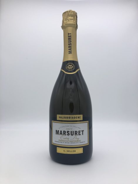 "Prosecco Spumante extra dry ""Il Soler"" DOCG – Marsuret"