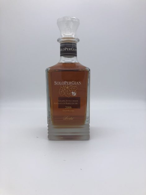 """Solo per Gian"" | 45% – Distillerie Berta"